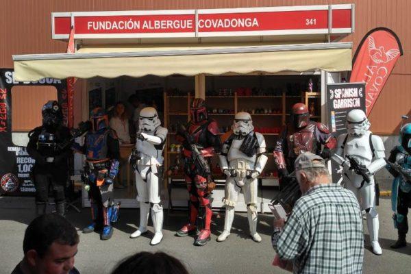 El Universo Star Wars en el Taller de Velas de la FIDMA