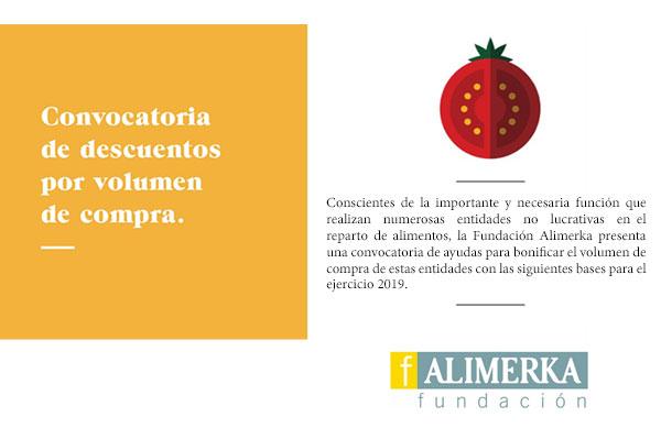 Convocatoria descuentos de Fundación Alimerka