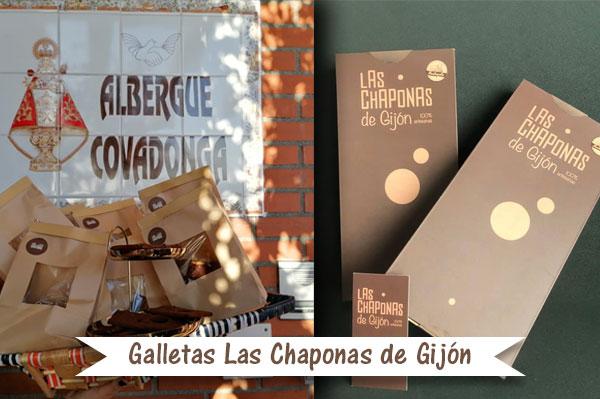 Donación galletas Chaponas de Gijón