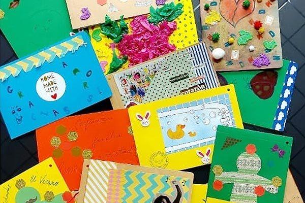 Postales realizados por los usuarios del Albergue